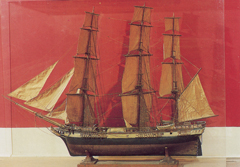 Model Ships by Norman Lindsay - The East Indiaman